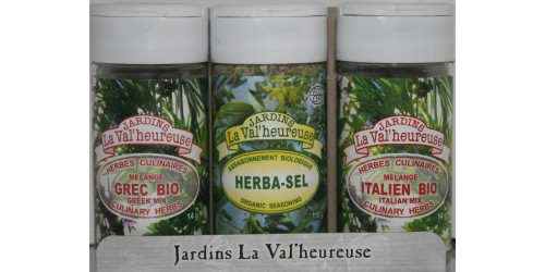 TRIO HERBA-SEL + MIX GREEK AND ITALIAN